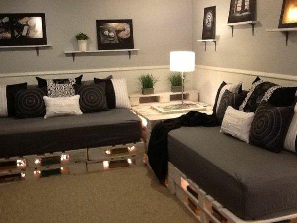 canap palette ext rieur canap palettes. Black Bedroom Furniture Sets. Home Design Ideas
